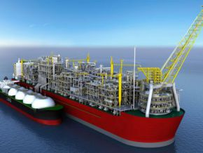 Did SNH abandoned the floating plant project undertaken in partnership with Perenco?