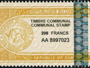 The cost of a communal stamp moves from FCfa 200 to 600