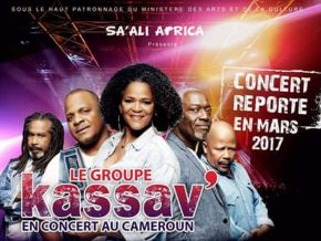 Kassav is apparently finally scheduled in Yaoundé for March