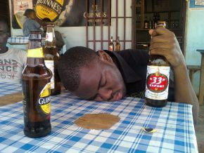 Cameroonians drink over one billion bottles of beer every year!