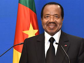 Is it true that Paul Biya never gave a speech in English ?