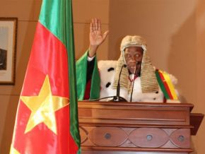 No, Cameroon is not building a house intuitu personae for Clément Atangana