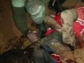 Are the soldiers shown on those images Cameroonians?