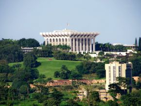 Paul Biya inaugurated the Palais de l'Unité