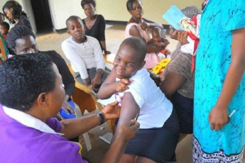 Health: Over 18,000 girls vaccinated against cervical cancer between 2014 and 2016
