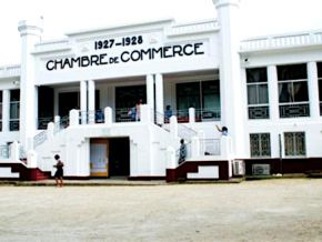 No, there is no permit office at the Cameroonian Chamber of commerce
