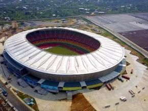 No, Japoma stadium has not been ranked as the world's tenth most beautiful stadium