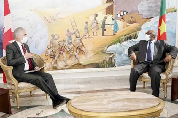 le-haut-commissaire-du-canada-au-cameroun-annonce-la-tenue-d-un-salon-virtuel-sur-l-education