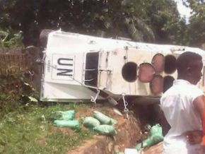 No a UN truck didn't crash on the Douala-Yaoundé corridor
