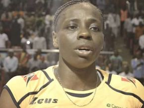 No, the captain of Cameroonian women's volleyball team did not send a letter to the minister of sports