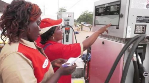 Yes, Cameroon imports the petroleum products distributed at gas stations
