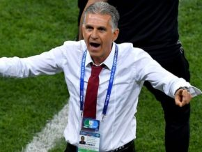 No, Carlos Queiroz is not the new coach of the indomitable lions