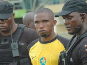 No, Samuel Eto'o has not been arrested in Nigeria