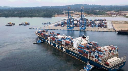 The port of Kribi recorded 457 stopovers in 2020, up 17% from initial previsions
