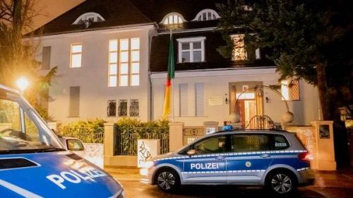 Yes, the Cameroonian embassy in Berlin was also ransacked