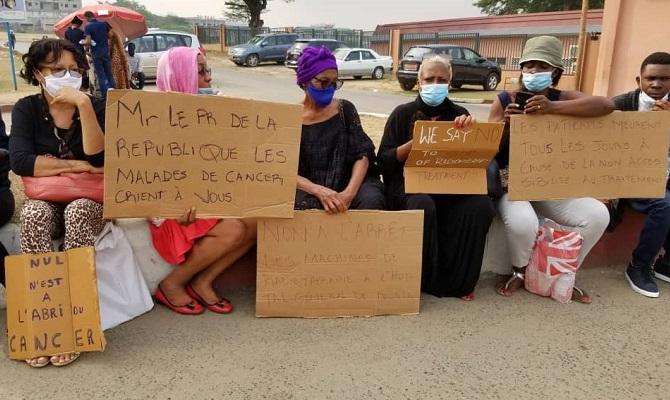 hopital-general-de-douala-des-malades-du-cancer-protestent-contre-une-nouvelle-fermeture-du-centre-de-radiotherapie
