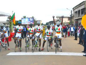 Non, le Tour Cycliste International du Cameroun n'a pas été retiré du calendrier de l'Union Cycliste Internationale