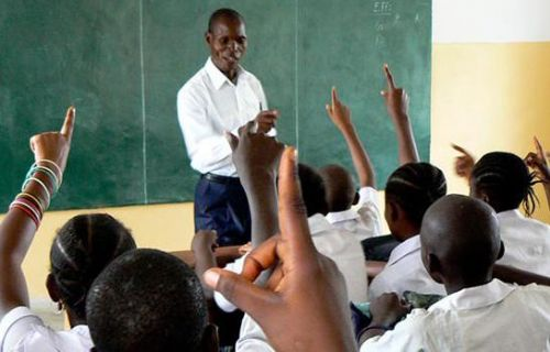 Yes! Teachers are indeed forbidden to use mobile phones in school setting, in West region