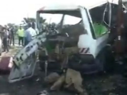 Seven people die, many others injured in a road accident at Bonomo