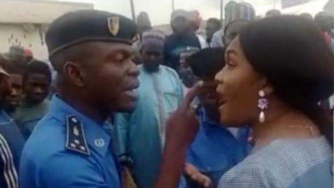 une-altercation-entre-la-deputee-nourane-fotsing-et-des-policiers-a-bafoussam-divise-l-opinion