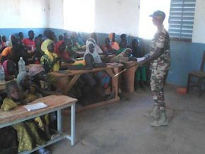 Are soldiers also teachers in Far North Cameroon?