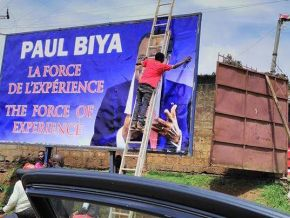 Is Paul Biya using a campaign slogan once used by late Omar Bongo Ondimba and many others before him?