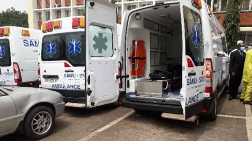Cameroon acquires new ambulances to strengthen the national health system