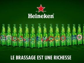 It is true: there are Heineken's bottles with Cameroon written on it