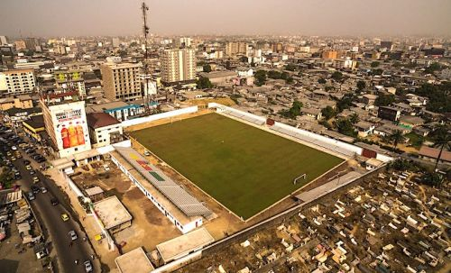 Yes, this picture is really the aerial view of Mbappè Leppé stadium