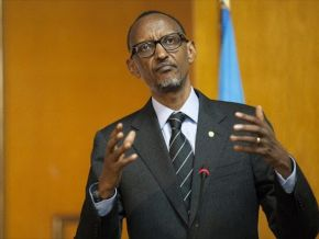 No, Rwandan President Paul Kagame didn't question the re-election of his counterpart Paul Biya