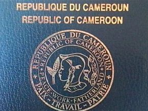 Is there really a shortage of the paperboard used to produce passports in Cameroon?