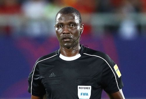 Yes, Cameroonian native Alioum Sidi is the best African referee of the year