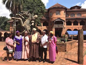 The Foumban Palace is not listed as under the UNESCO World Heritage