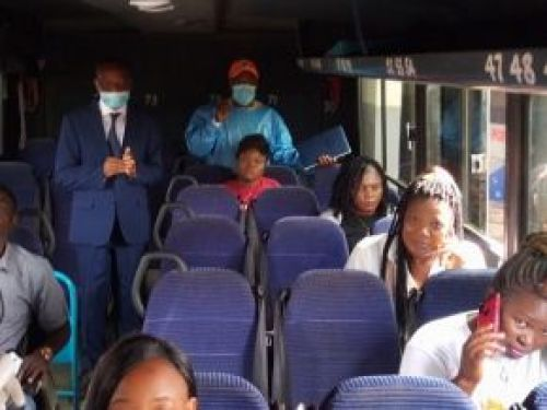 Ministry of Transport institutes compulsory face masks for public transport users
