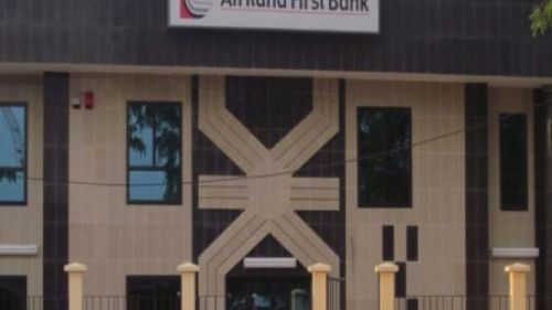No, Afriland First Bank hasn't sent a mail with security clearance form to its clients