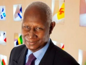 No, former Senegalese president Abdou Diouf hasn't passed away