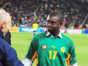 Has Marc Vivien Foe junior been really imprisoned for armed robbery?