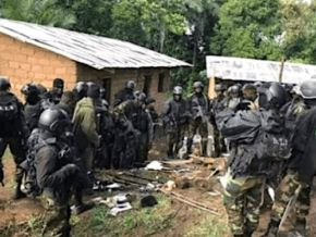 Cameroon : Army dismantles a pro-independent retrenchment camp in the North-West