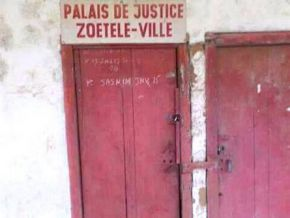 Is this picture really of the Zoétélé Justice Court?