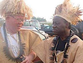 Are traditional chiefs really paid a monthly salary?
