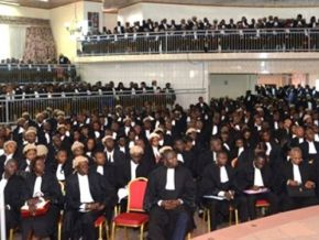 Is it true that there is a blind lawyer in Cameroon?