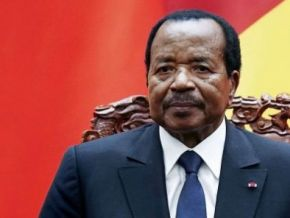 No, President Paul Biya did not comment on his Ivorian counterpart Alassane Ouattara's recent announcement