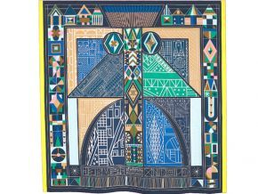 "Is it true that Hermes drew its collection ""Ndop"" from the traditional Cameroonian scarf?"